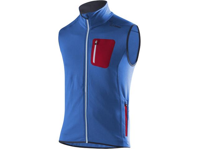 Löffler Stretchfleece Vest Herrer, cobalt blue